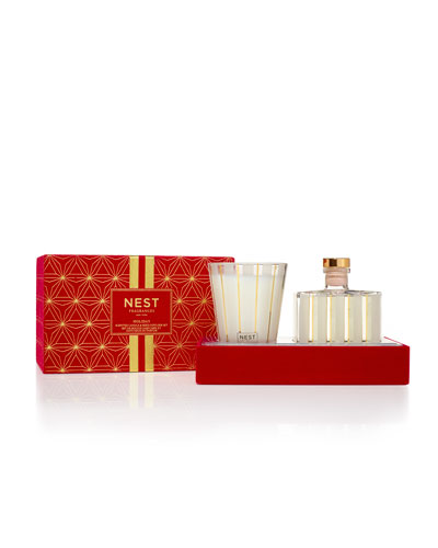 Holiday Classic Candle + Diffuser Gift Set