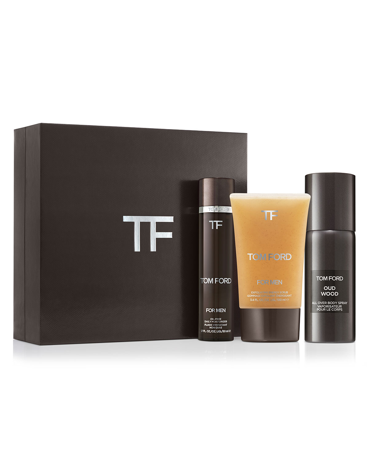 TOM FORD For Men Skincare and Grooming Set