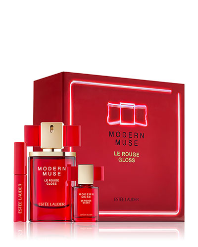Limited Edition Modern Muse Le Rouge Gloss 3-Piece Set ($92 Value)