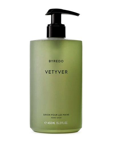 Vetyver Hand Wash, 15 oz./ 450 mL