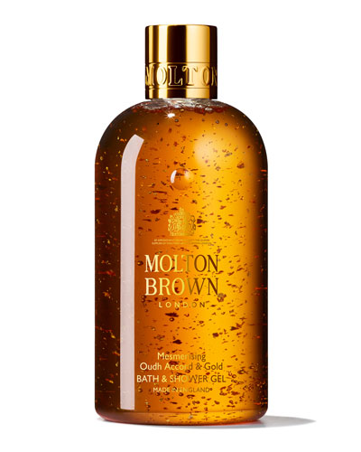 Mesmerizing Oudh Accord & Gold Bath & Shower Gel, 10 oz./ 300 mL