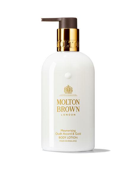 Molton Brown Mesmerizing Oudh Accord & Gold Body Lotion, 10 oz./ 300 mL