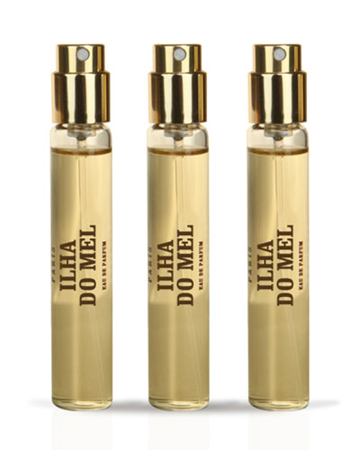 Ilha Do Mel Travel Spray Refill, 3 x .03 oz./ 10 mL