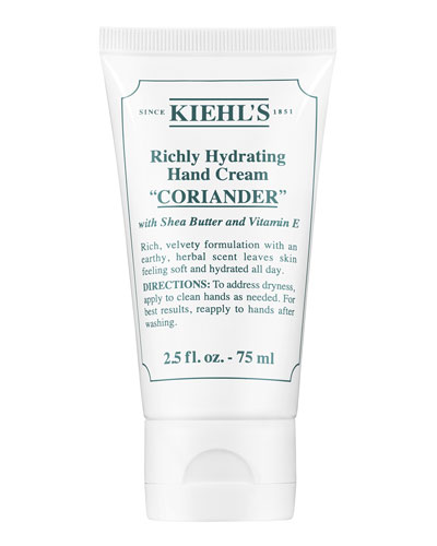 Coriander Scented Hand Cream, 75 mL
