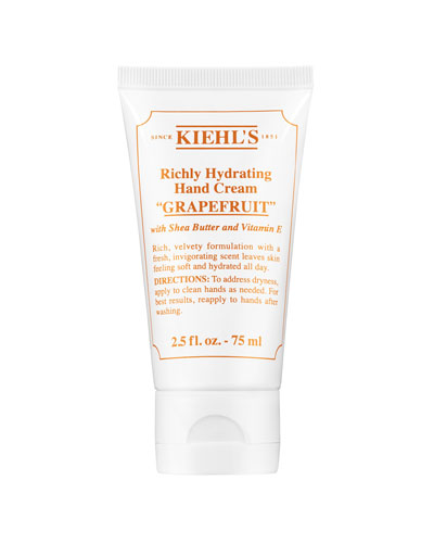 Grapefruit Scented Hand Cream, 75 mL