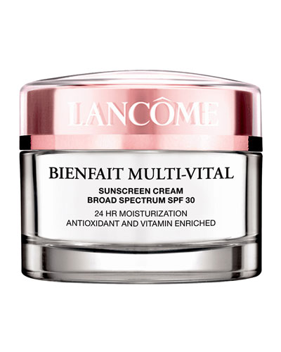 Bienfait Multi-Vital Day Cream 24-Hour Antioxidant & Vitamin Enriched Broad ...