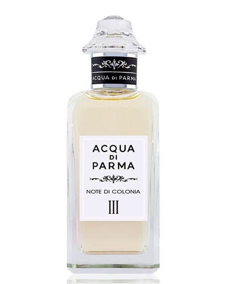 Acqua di Parma Note Di Colonia III Eau de Cologne, 5 oz./ 150 mL