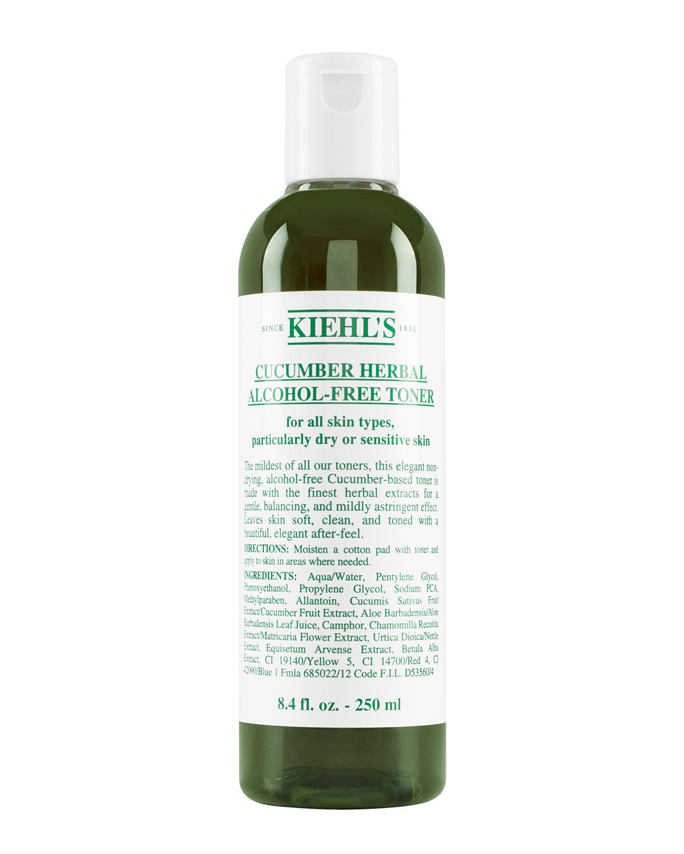 Cucumber Herbal Alcohol-Free Toner, 8.4 oz.