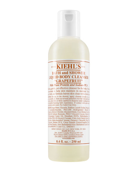 Kiehl's Since 1851 8 oz. Grapefruit Bath & Shower Liquid Body Cleanser