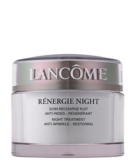 Lancome Renergie Night Cream Anti-Wrinkle Restoring Night Moisturizer