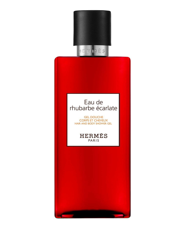 Herm S 6.7 OZ. EAU DE RHUBARBE ECARLATE HAIR & BODY SHOWER GEL
