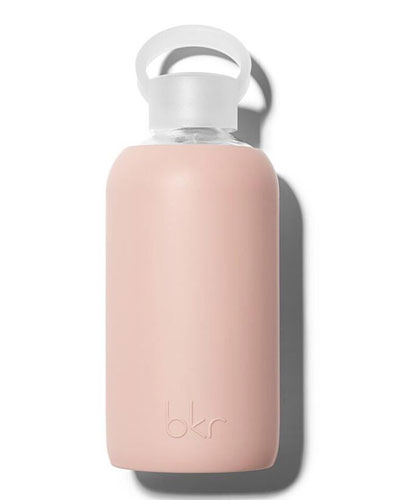 Glass Water Bottle, Naked, 16 oz./ 500 mL