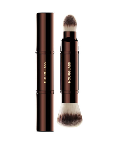 Retractable Double-Ended Complexion Brush