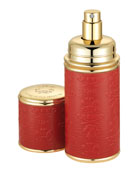 CREED 1.7 oz. Gold Trim/Red Leather Atomizer