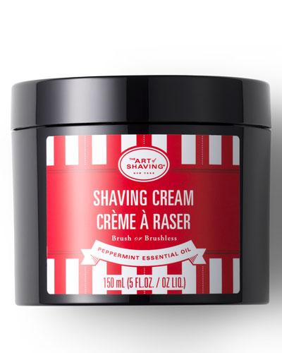 Peppermint Shaving Cream, 5 oz.