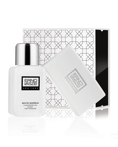 White Marble Double Cleanse Set ($100.00 Value)