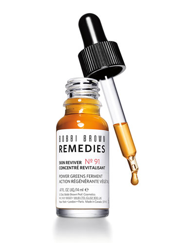 Remedies Skin Reviver Power Greens Ferment Serum, .47 oz./ 14 mL