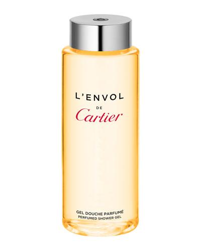 L'Envol de Cartier Shower Gel, 6.8 oz.