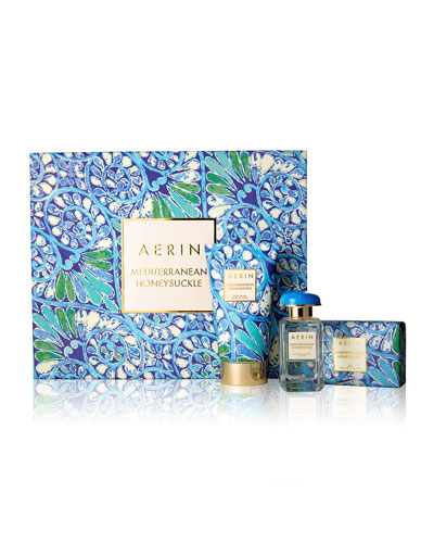 Limited Edition Mediterranean Honeysuckle Fragrance Collection Set