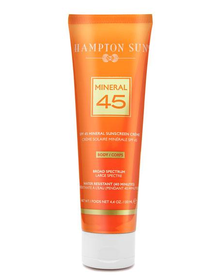 Hampton Sun Mineral Crème Sunscreen for BODY SPF 45