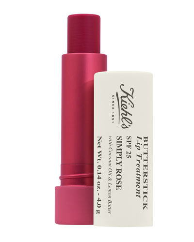 Butterstick Lip Treatment SPF 25, Simply Rose