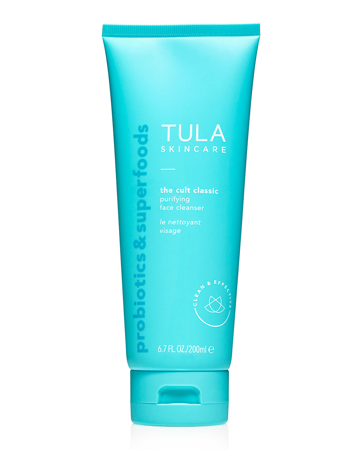 TULA Purifying Face Cleanser, 6.7 Oz./ 200 Ml