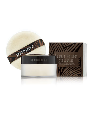Take a Powder Translucent Loose Setting Powder with Puff