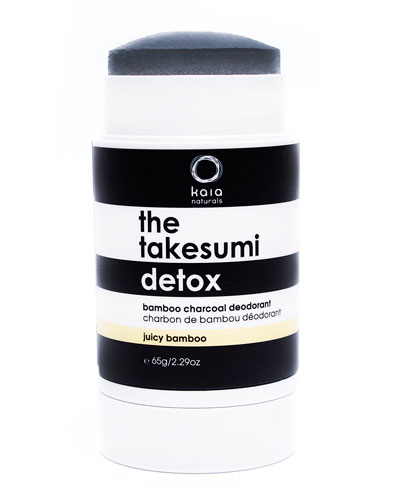 The Takesumi Detox Bamboo Charcoal Deodorant, 2.3 oz.
