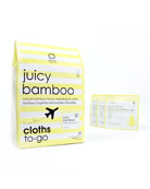 Juicy Bamboo Cleansing Cloths