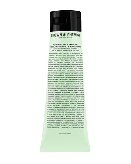 Grown Alchemist 5.7 oz. Purifying Body Exfoliant: Pear, Peppermint & Ylang Ylang