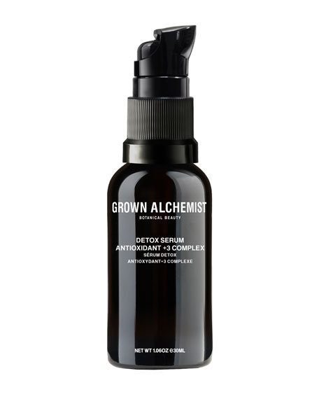 Grown Alchemist Detox Serum Antioxidant +3 Complex, 1.0 oz./ 30 mL
