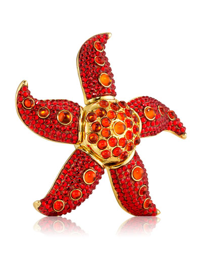 Limited Edition Modern Muse Dancing Starfish Perfume Compact by Monica Rich ...