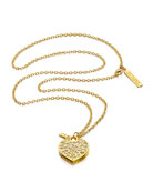 Limited Edition Beautiful Love Locket Necklace Perfume Compact by Monica Rich Kosann