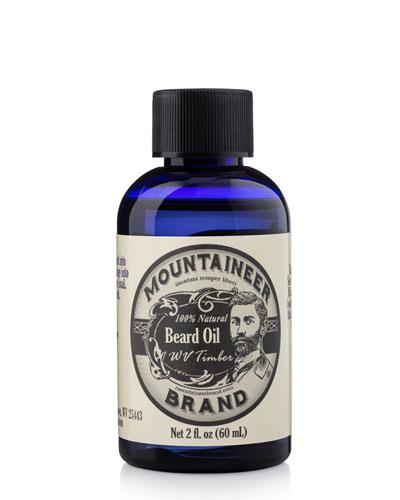 Beard Oil - WV Timber, 2 fl. oz. / 60 ml