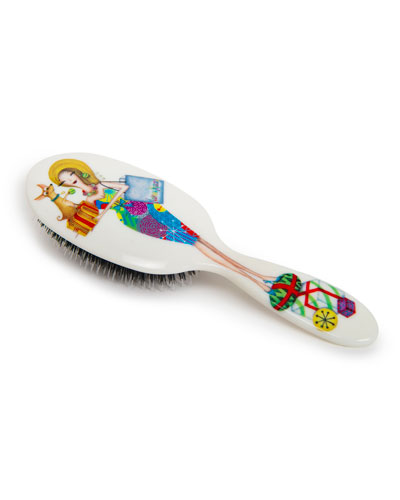 Holiday Blonde Miss Daisy Hair Brush