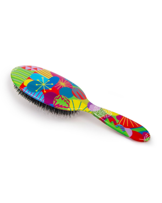 Holiday Pattern Hair Brush
