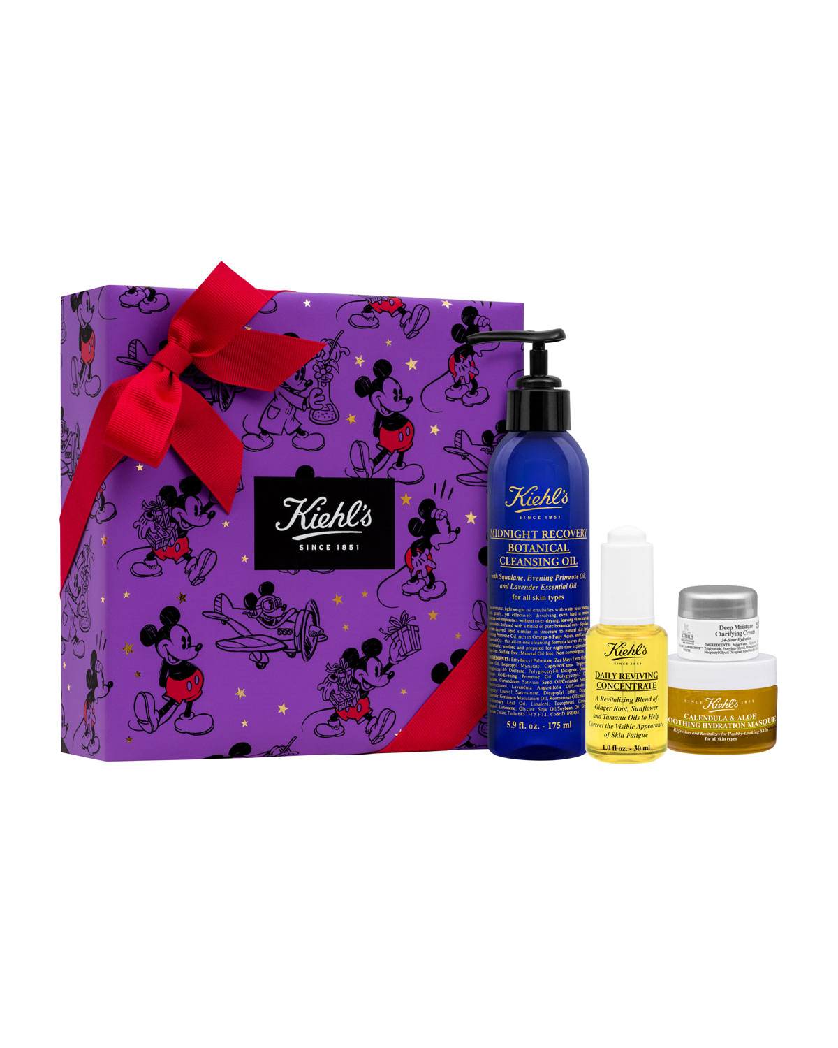 Special Edition Kiehl's X Disney Glow-Getters ($100.00 Value)