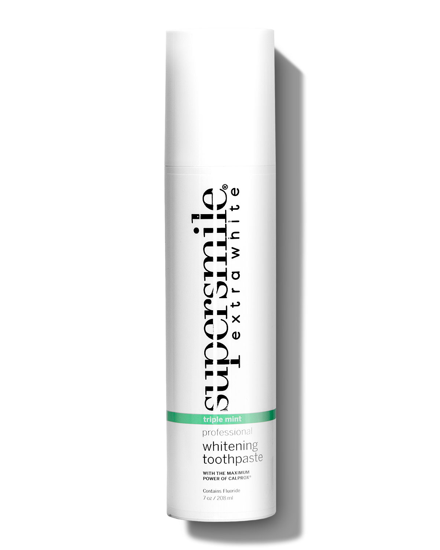 SUPERSMILE Extra White Toothpaste In Triple Mint, 7.0 Oz./ 280 Ml