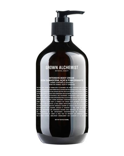 Intensive Body Cream – Rosa Damascena/Acai/Pomegranate, 16.7 oz./ 500 mL