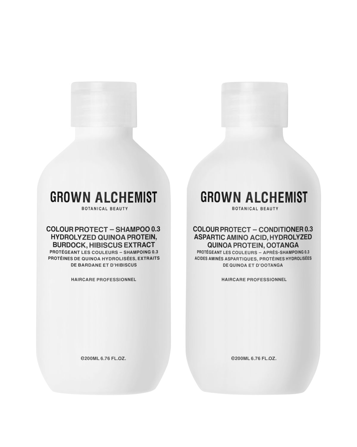 GROWN ALCHEMIST Colour - Protect Haircare Twinset, 2 X 6.7 Oz./ 200 Ml