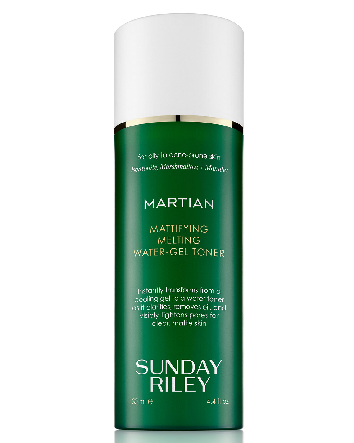 Martian Mattifying Melting Water-Gel Toner, 4.4 oz./ 130 mL