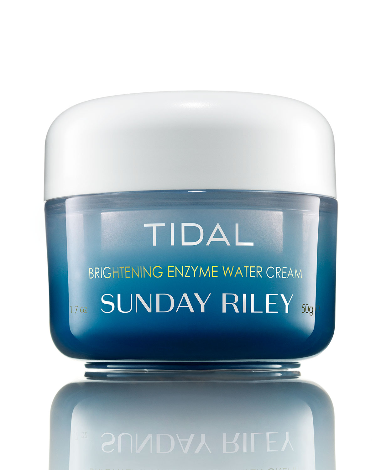 SUNDAY RILEY MODERN SKINCARE Tidal Brightening Enzyme Water Cream, 1.7 Oz./ 50 Ml