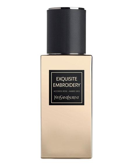 Yves Saint Laurent Beaute 2.5 oz. Exclusive LE VESTIAIRE DES PARFUMS Collection Orientale Exquisite Embroidery Eau de Parfum