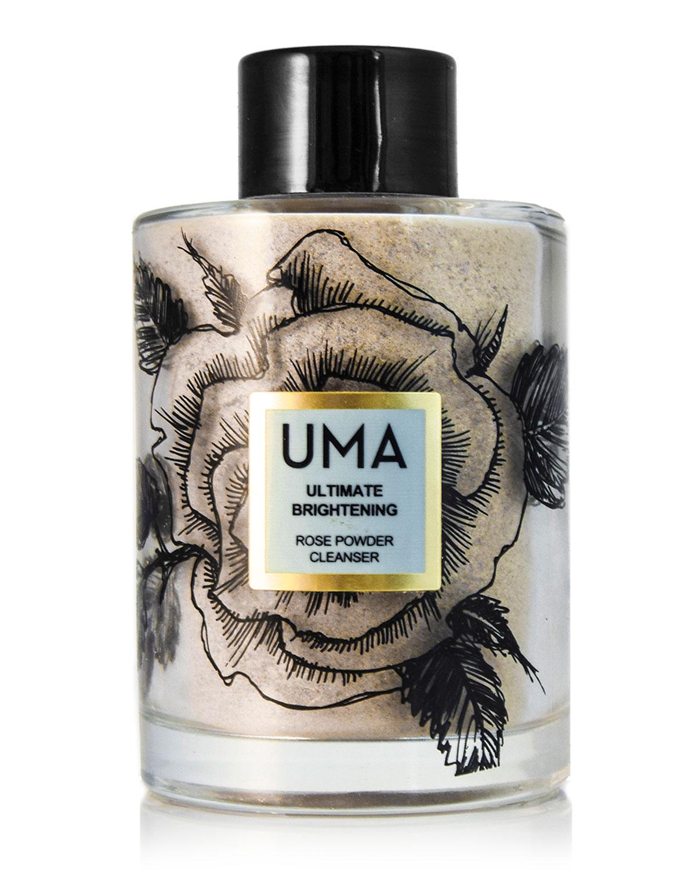 UMA OILS Ultimate Brightening Rose Powder Cleanser, 4.0 Oz./ 118 Ml