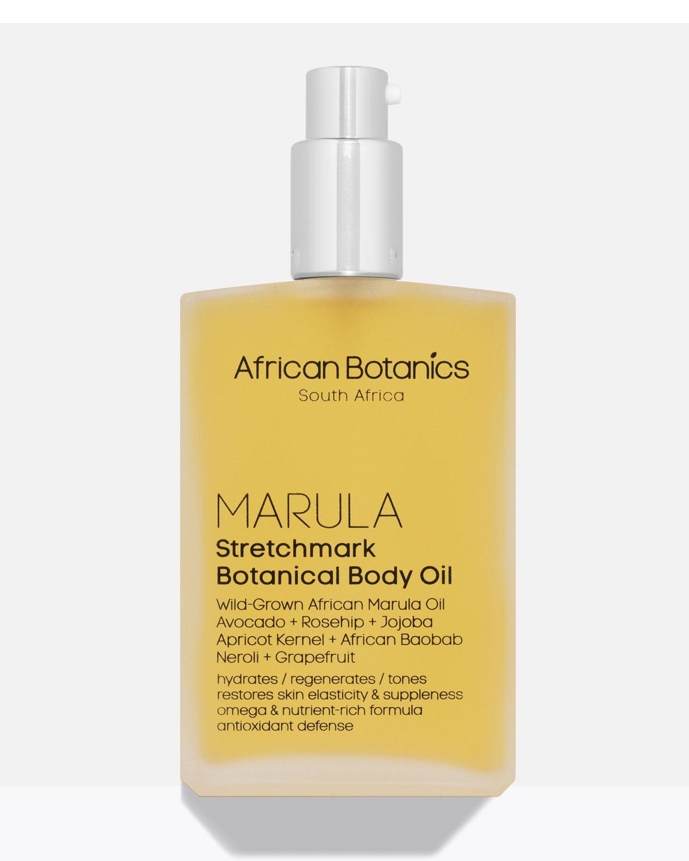 AFRICAN BOTANICS Marula Stretchmark Botanical Body Oil, 3.4 Oz./ 100 Ml