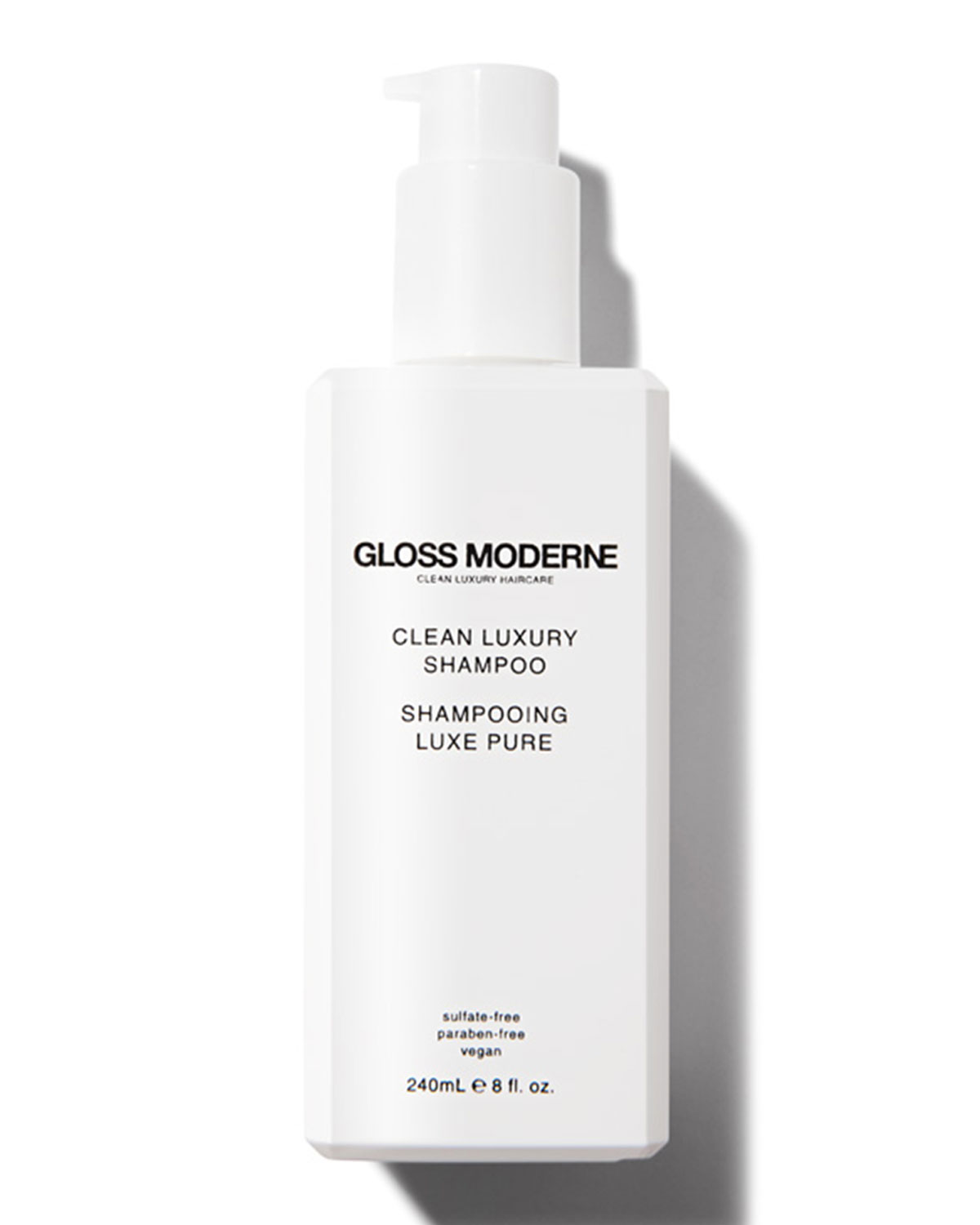 GLOSS MODERNE Clean Luxury Shampoo, 8.0 Oz./ 240 Ml