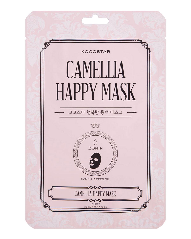 Camellia Happy Mask