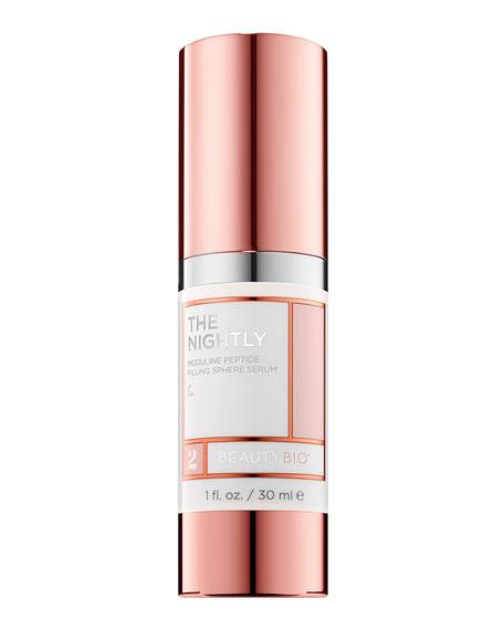 BeautyBio 1.0 oz. THE NIGHTLY Moduline Peptide Filling Sphere Serum