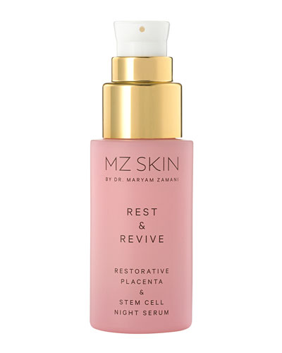Rest and Revive Restorative Placenta and Stem Cell Night Serum, 0.1 oz./ 3.0 mL