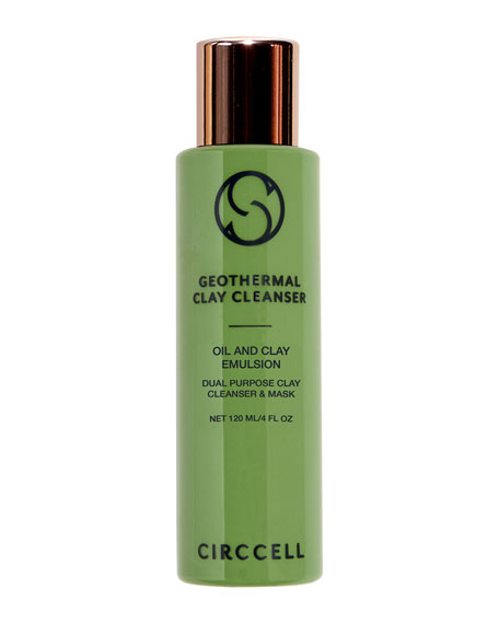 Circcell Skincare Geothermal Clay Cleanser, 4 oz./ 120 mL